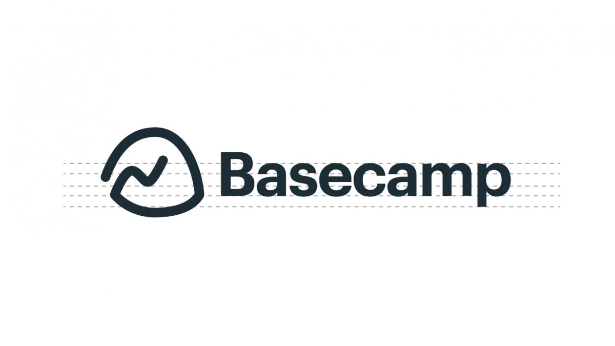 Basecamp new logo lines